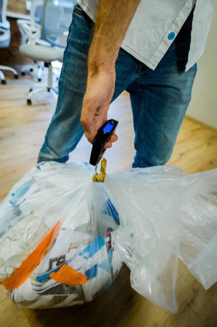 bureau-recyclage pesée